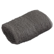 Global Material Very Fine #00 Steel Wool Hand Pad, Gray