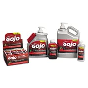 GOJO® 1 Gal Gel Pumice Hand Cleaner With Pump Dispenser, Red