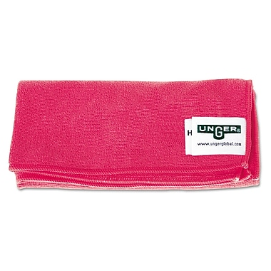 Unger® Smart Color Heavy Duty Red Micro Wipe