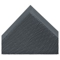 3M™ Nomad™ 4' x 6' Z-Web Medium Traffic Scraper Mat, Gray