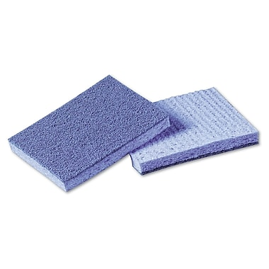 3M™ Scotch-Brite™ Soft Scour!™ 3 1/2in. x 5in. Scrubbing Sponge, Blue