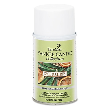 TimeMist® 6.6 oz. Yankee Candle Air Freshener Refill, Sage and Citrus