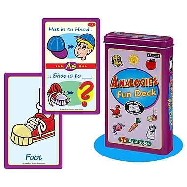 Super Duper® Analogies Fun Deck Cards