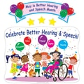 Super Duper® Bulletin Board Set, Celebrate Better Hearing and Speech