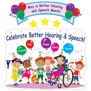 Super Duper® Bulletin Board Set, Celebrate Better Hearing and Speech