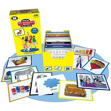 Super Duper® Webber® Big Vocabulary Nouns Photo Cards