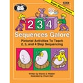 Super Duper® 2, 3, 4 Sequences galore Activity Book