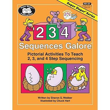 Super Duper® 2, 3, 4 Sequences galore Activity Book