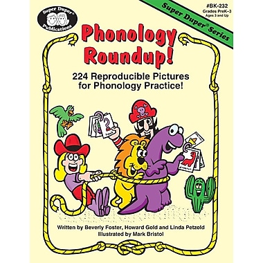 Super Duper® Phonology Roundup Book, Grades PreK-3