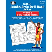 Super Duper® Jumbo Artic Drill Book PICTURE-WORDS Add-On Book