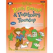 Super Duper® Basic Concept & Vocabulary Round-Up Book