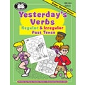 Super Duper® Yesterday's Verbs, Regular and Irregular Past Tense Book, Grades 1-6