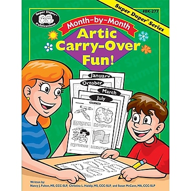Super Duper® Month-by-Month Artic Carry-Over Fun Book