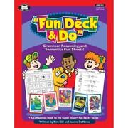 Super Duper® Fun Deck® & Do™ Fun Sheets, Grades K-6