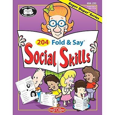 Super Duper® 204 Fold and Say® Social Skills Resource Book