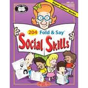 Super Duper® 204 Fold and Say® Social Skills Resource Book