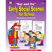 Super Duper® Say and Do® Early Social Scenes Life Skills Resource Book
