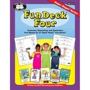 Super Duper® Fun Deck® Four Book, Grades K-6