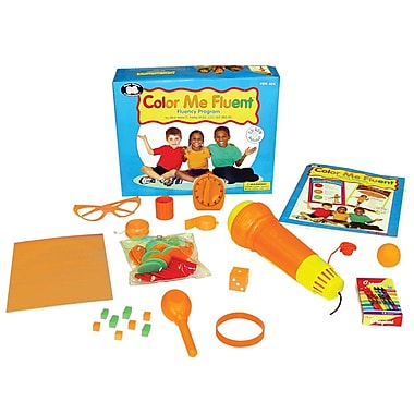 Super Duper® Color Me Fluent® Fluency Program Kit, Grades PreK and Up