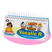 Super Duper® Turn and Talk® Vocalic R Articulation and Language Flipbook