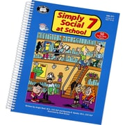 Super Duper® Simply Social 7™ at School Life Skills Resouce Book
