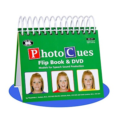Super Duper® Photo Cues Flip Book, Grades PreK-5