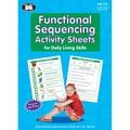 Super Duper® Functional Sequencing Activity Sheets for Daily Living Skills Book and CD