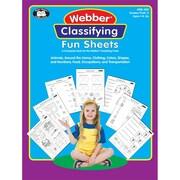 Super Duper® Webber® Classifying Fun Sheets