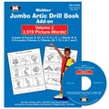 Super Duper® Jumbo Artic Drill Book PICTURE-WORDS Add-On Book and CD-ROM Combo