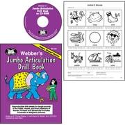 Super Duper® Webber® Jumbo Artic Drill Book Combo