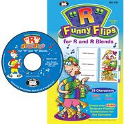 """Super Duper® Webber® """"R"""" Funny Flips™ CD-ROM Combo"""