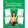 Super Duper® Webber Core Curriculum Vocabulary Cards Fun Sheets, Level Three
