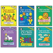 Super Duper® Say and Do® Library Combo (R, S, L, S/R/L Blends, K, and G), Grades K-3