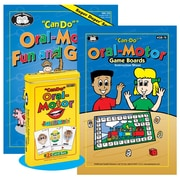 "Super Duper® ""Can-Do"" Oral-Motor Combo Fun and Game Book"