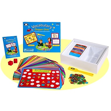 Super Duper® Chipper Chat® Vocabulary Magnetic Chip Game Board