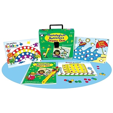 Super Duper® Phonological Awareness Chipper Chat® Board Game