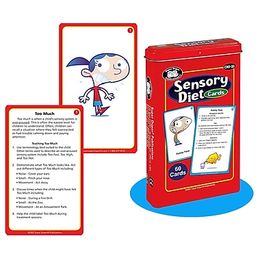 Super Duper® Sensory Diet Deck Cards