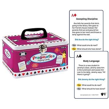 Super Duper® Webber® Pragmatics Playing Cards With Secret Decoder