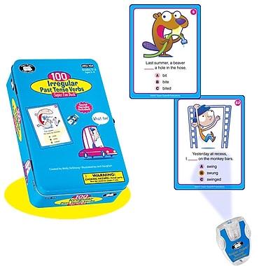 Super Duper® 100 Irregular Past Tense Verbs Super Fun Deck® Cards With Secret Decoder