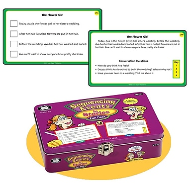 Super Duper® Sequencing Events in Stories Fun Deck® Cards