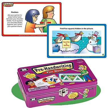 Super Duper® Pre-Handwriting Fun Deck® Cards
