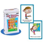 """Super Duper® """"WH"""" Questions At School Fun Deck Cards"""