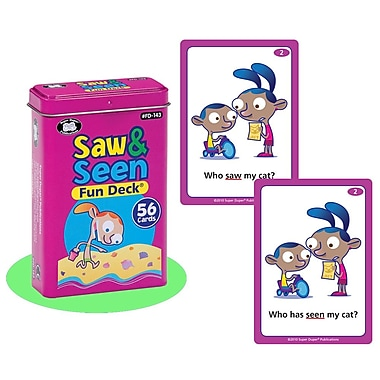 Super Duper® Saw & Seen Fun Deck Cards