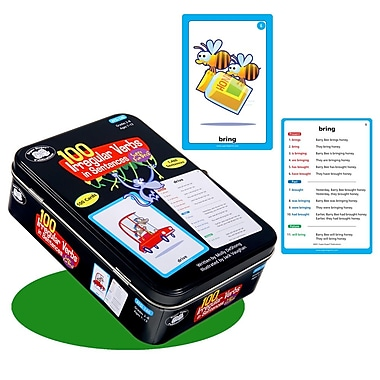 Super Duper® 100 Irregular Verbs in Sentences Super Fun Deck® Cards