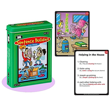 Super Duper® Sentence Building Fun Deck Cards