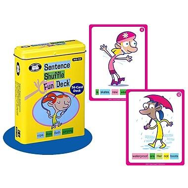 Super Duper® Sentence Shuffle Fun Deck Cards