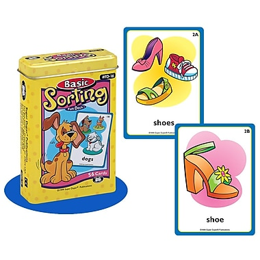 Super Duper® Basic Sorting Fun Deck® Cards