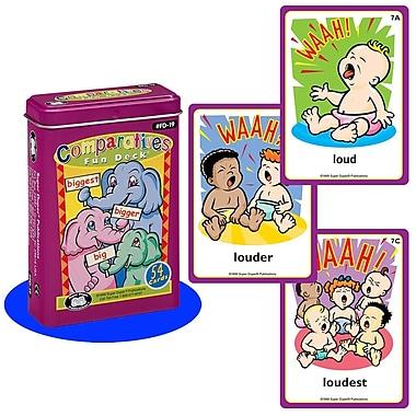 Super Duper® Comparatives Fun Deck® Cards