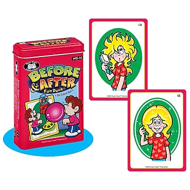 Super Duper® Before & After Fun Deck® Cards