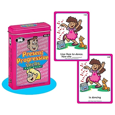 Super Duper® Present Progressive Verbs Fun Deck® Cards